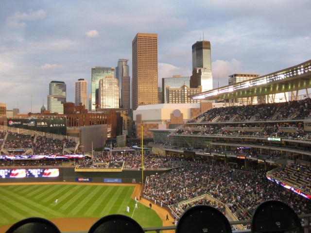 Target Field Minneapolis sports travel