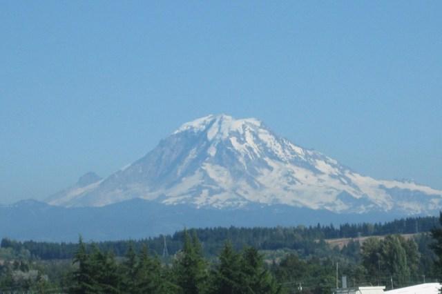 Mount Rainier Seattle sports travel