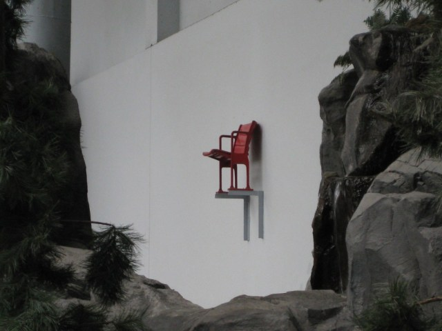 Nickelodon Universe red chair
