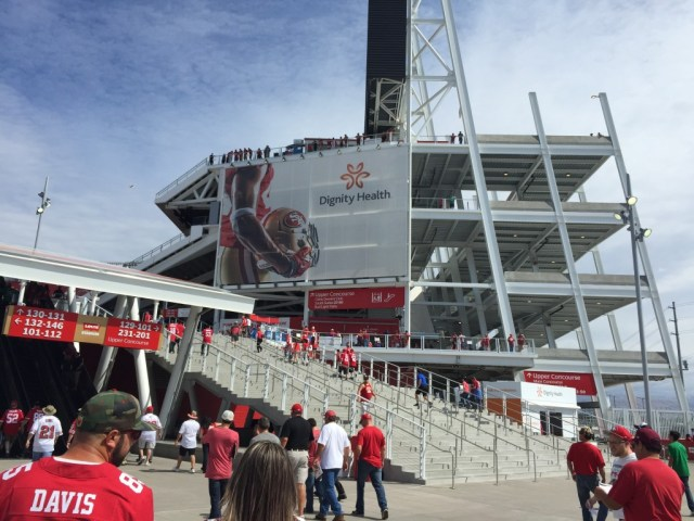 Levi's Stadium Santa Clara 49ers events