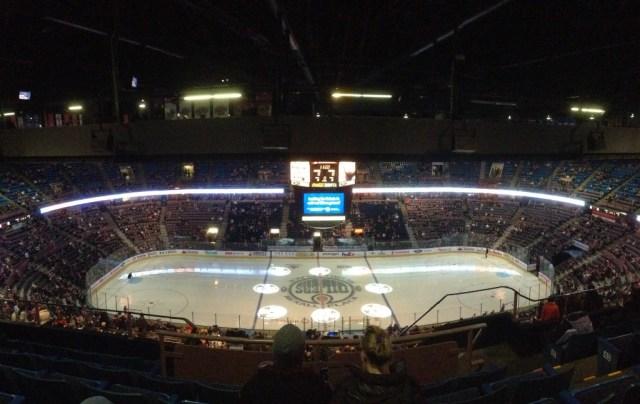 Rexall Arena panorama