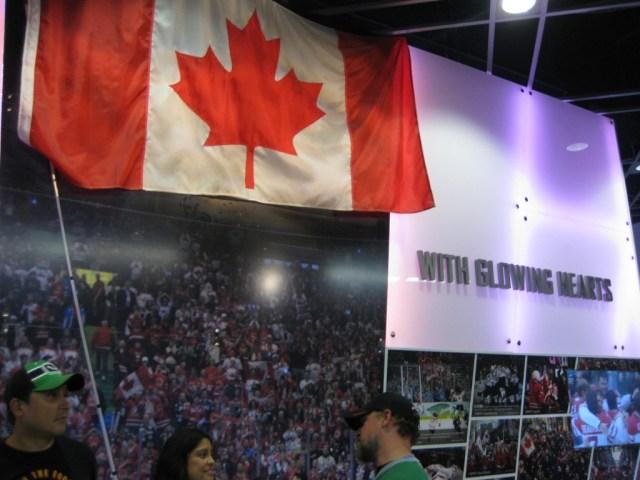 2010 Olympic display