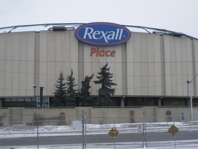 Rexall Place exterior