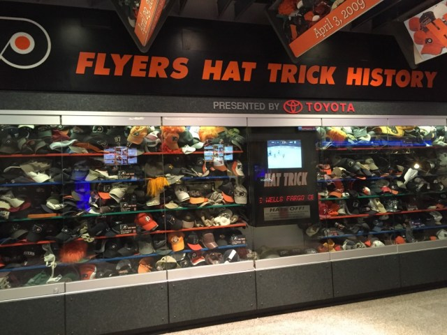 Hat trick display