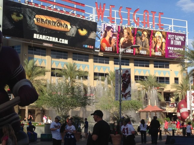 Westgate City Center Phoenix sports travel
