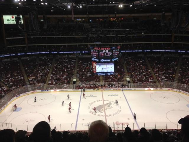 Gila River Arena Arizona Coyotes events parking seating food