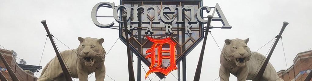 Comerica Park Detroit Tigers events tickets parking hotels seating food