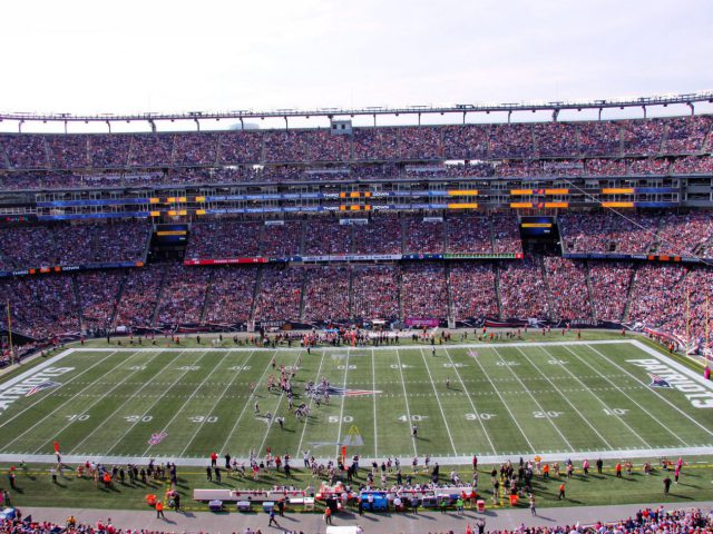 Gillette Stadium New England Patriots events tickets parking hotels seating food