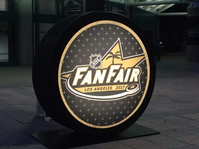 NHL All-Star FanFair puck