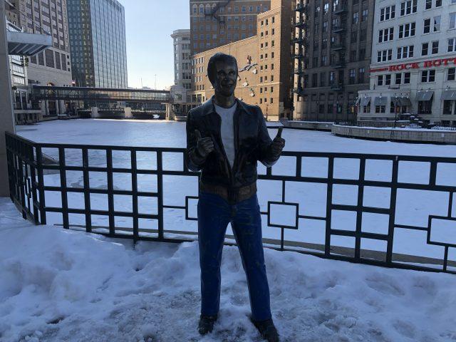 Bronze Fonz Milwaukee sports travel