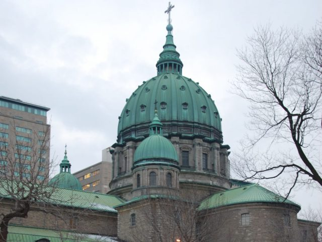Mary, Queen of the World Cathedral Montreal sports travel
