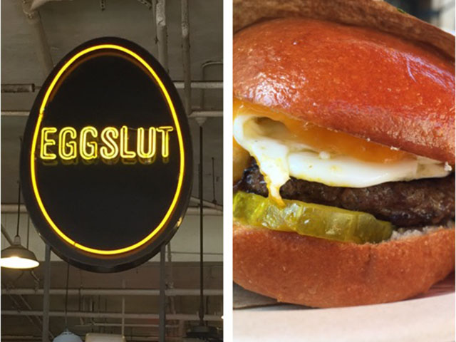 Eggslut great places to eat before a Dodgers game