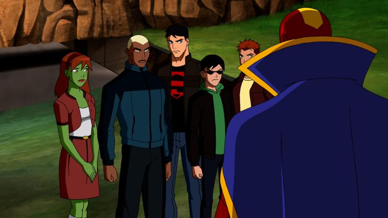 """Young Justice, """"Welcome to Happy Harbor"""" review, Miss Martian, DT2ComicsChat, David Taylor II"""
