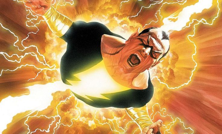 Black Adam, Shazam, DT2ComicsChat, The Rock, Shazam movie