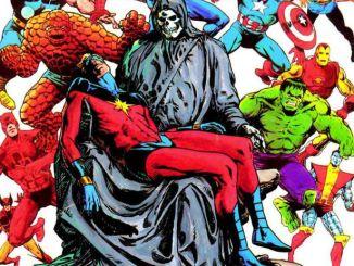 The Death of Captain Marvel, Mar-Vell, Kree, Jim Starlin, Graphic Novels, David Taylor II, DT2ComicsChat