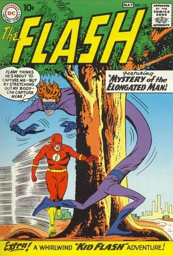 The_Flash_Vol_1_112, Elongated Man, The Flash