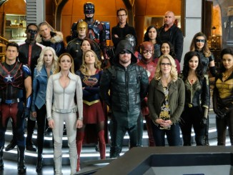 Crisis on Earth X, Crossover, Supergirl, Overgirl, Arrow, Arrowverse, Grant Gustin, Melissa Benoist, Danielle Panabaker, Stephen Amell, Green Arrow, WestAllen wedding, Olicity, DT2ComicsChat, David Taylor II, Crisis on Earth X review