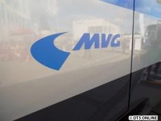 Die MVG betreibt die U-Bahn in München.