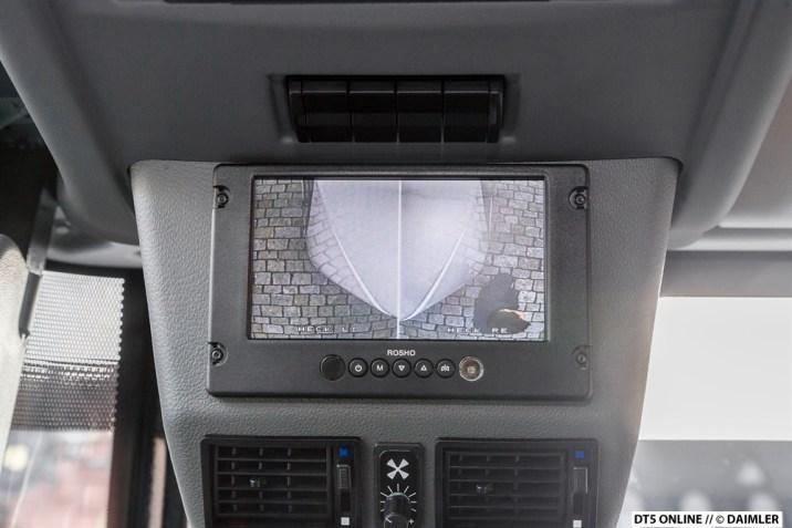 Bildschirm der Rückfahrkameras