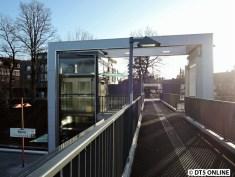 Brücke aus Richtung Berner Heerweg/P+R