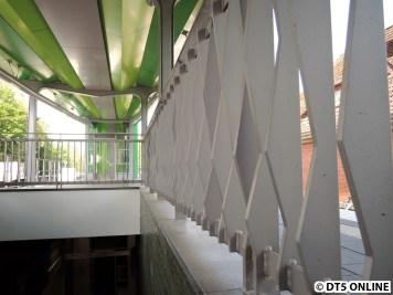 Detailaufnahme Treppengeländer