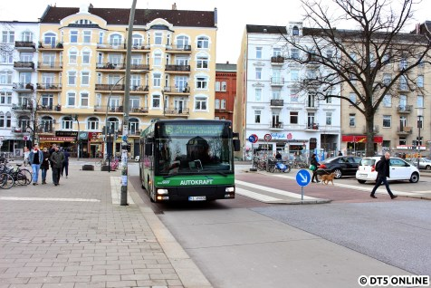 Auch Autokraft fährt mit älteren Bussen