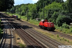 Die Gravita wurde anschließend umgestelllt, musste zunächst in Richtung Ohlsdorf fahren