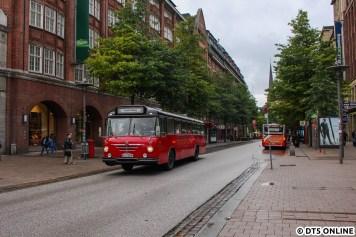 Der Büssing Präsident 14 mit der Wagennummer 6406 wurde 1964 gebaut.