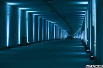 Schließlich dann der gemeinsame Tunnel der U4-Verlängerung.