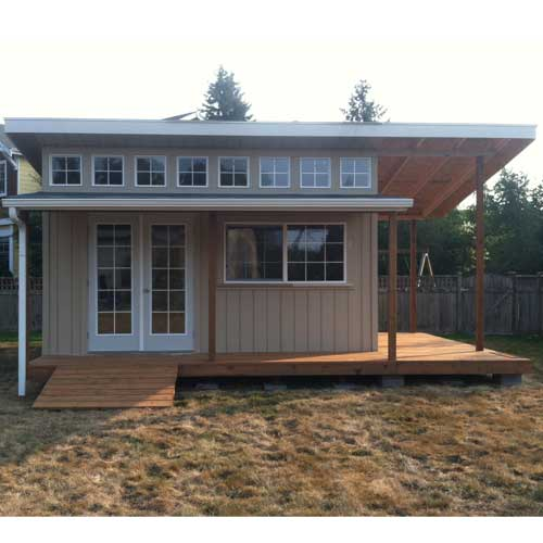 Slant Roof Custom Shed A Simple Solution For Your
