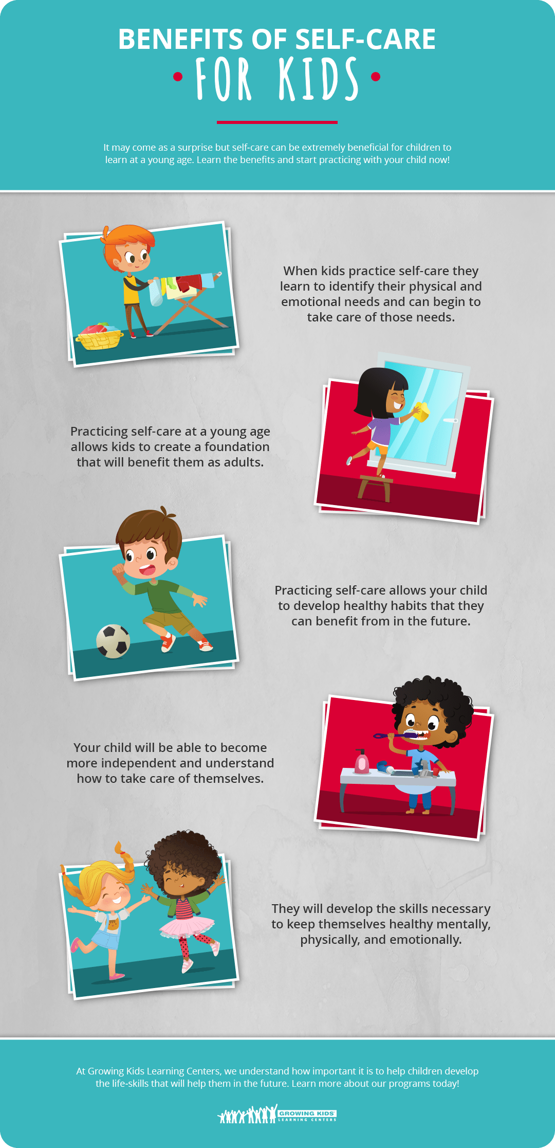 Self Care Tips For Kids