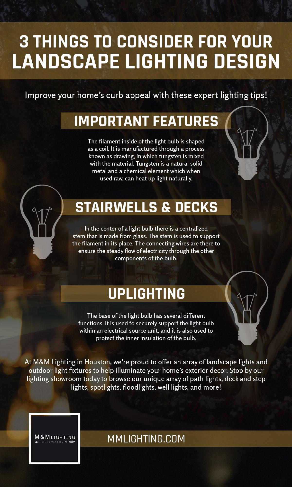 top landscape lighting tips to improve