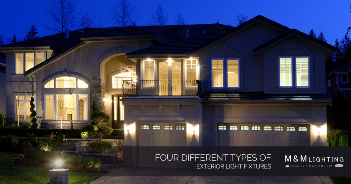 Exterior Lighting In Houston: Four Different Types Of