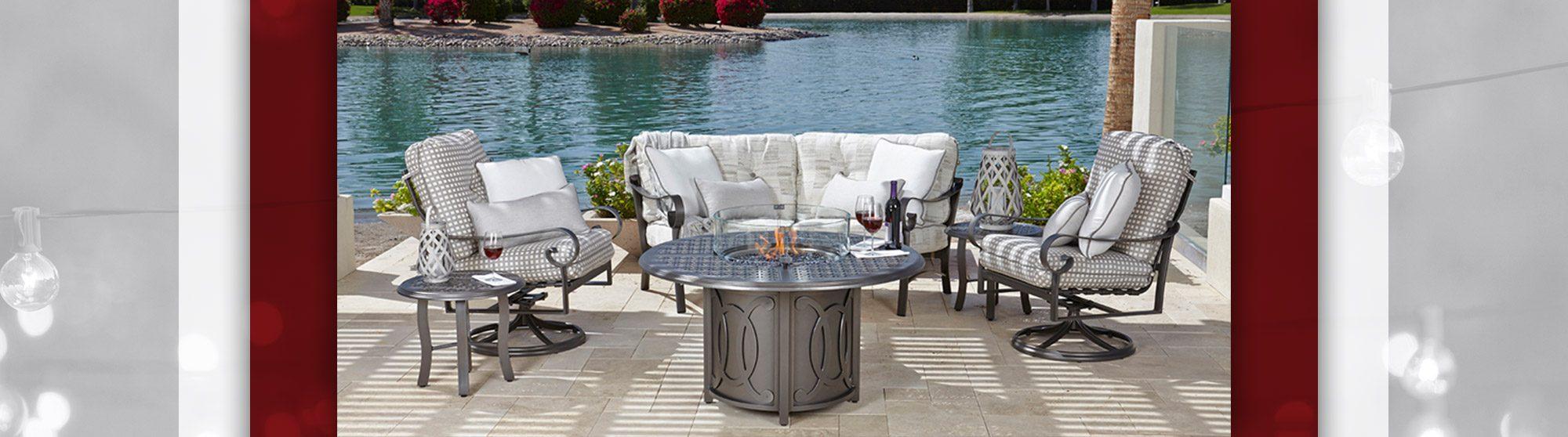 wrought iron patio furniture ga
