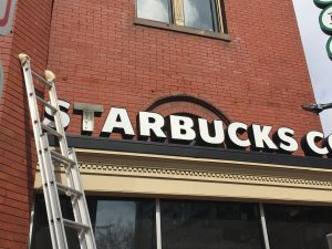sign maintenance for the dc metro area