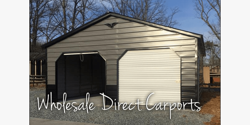 Enclosed Garage Customization Options Wholesale Direct