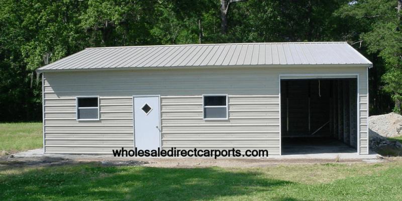 Enclosed Garage Customization Options Wholesale Direct
