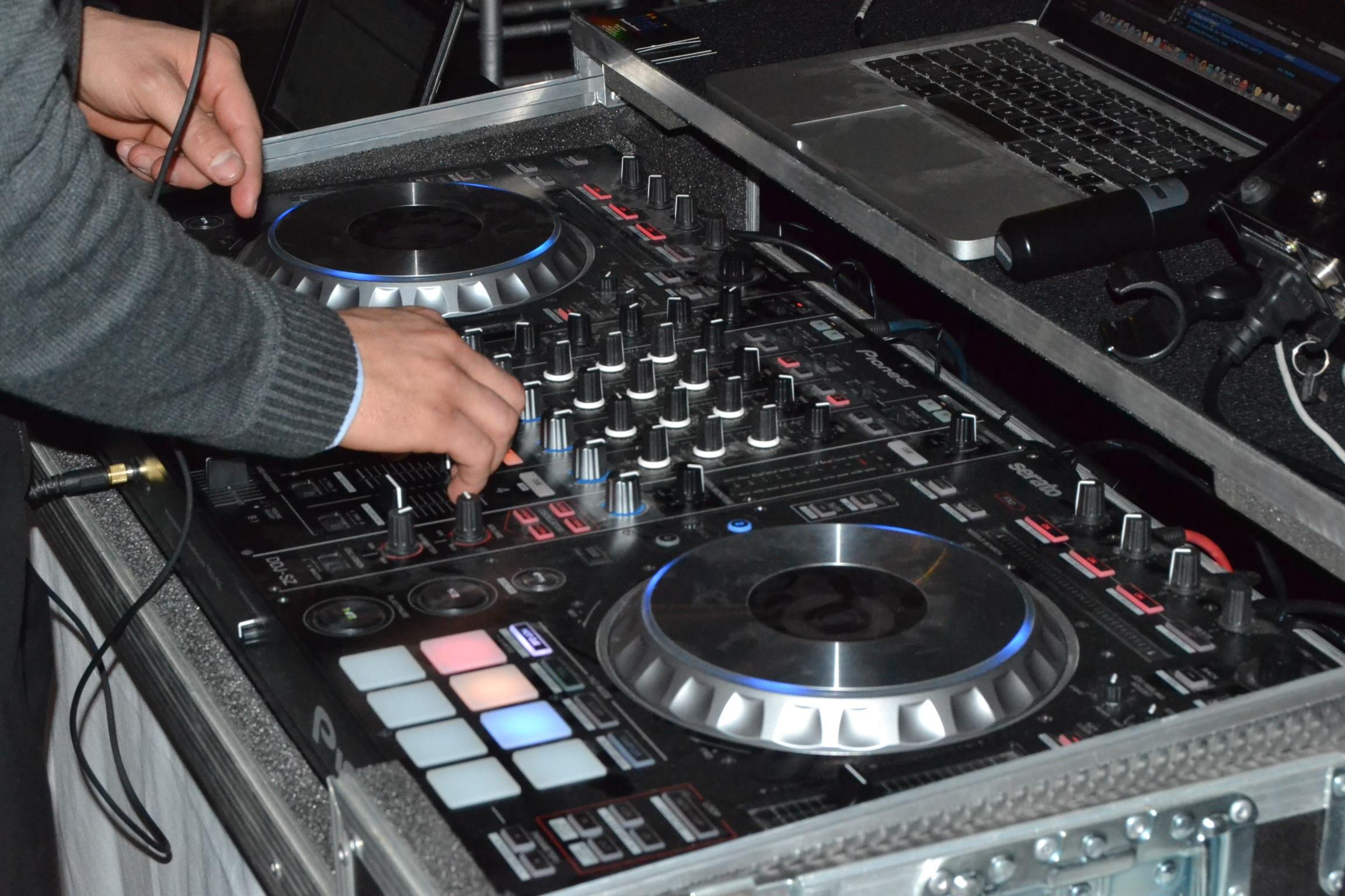 DJ Ruben en un evento