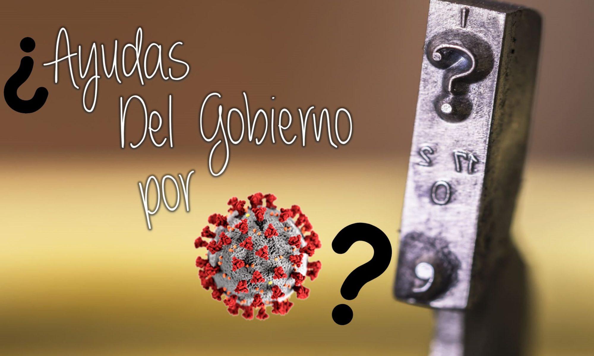 Ayudas economicas del Gobierno por Covid19