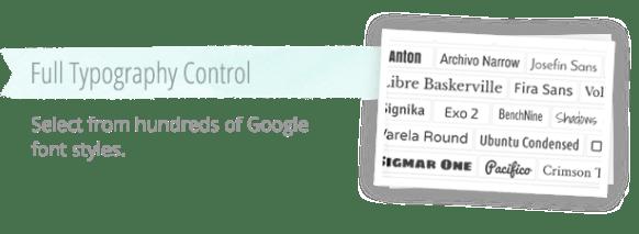 Easy Google Font Control