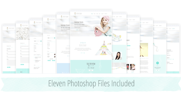 PhotoShop Files Included