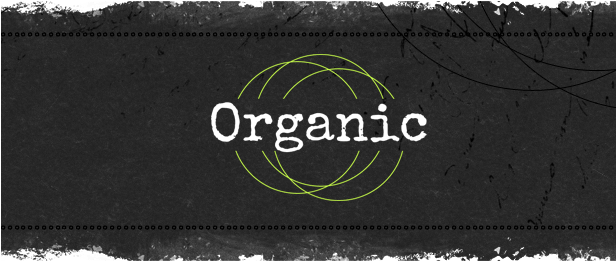 Organic Cafe Restaurant Grunge WordPress theme