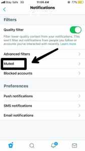 How to Turn off Twitter Notification on Your Account