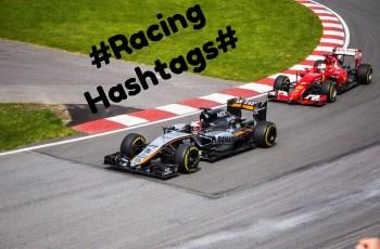 Racing Hashtags