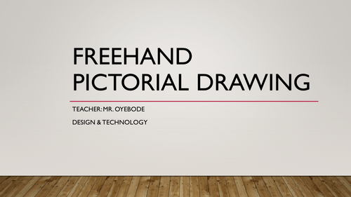 Freehand Pictorial Drawing