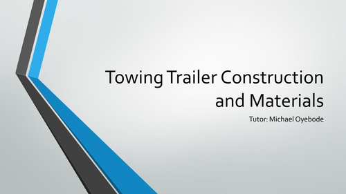 Towing Trailer Design Project 2