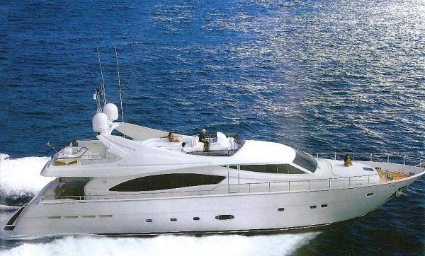 88 Ferretti Flybridge Motor Yacht 2005 Dwight Tracy