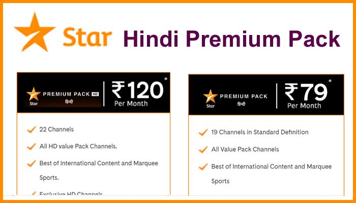 Star Hindi Premium Pack