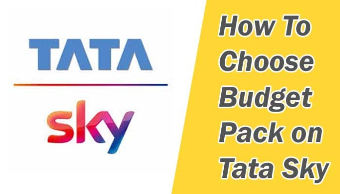 Tatasky package selection