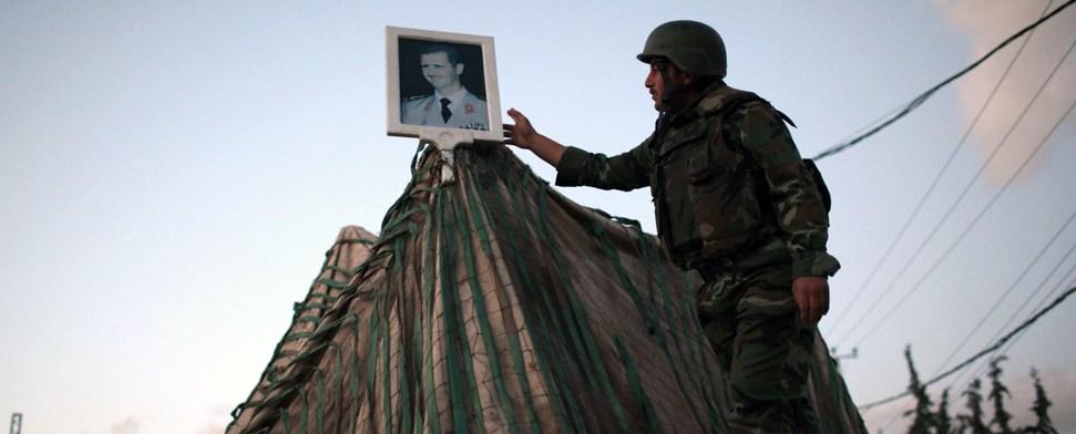 UN-Beobachter - hilflos und unbewaffnet an der syrischen Front